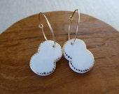 Cocoon Hoop Earrings...