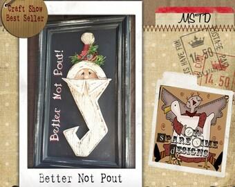 Primitive Santa Pattern, Primitive Wood Pattern, Primitive E-Pattern, Holiday Folk Art, Country Patterns, Wooden Santa, Holiday Decor