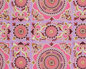 Mantra in Violet Dream Weaver Fabric by Amy Butler - 1/2 Yard