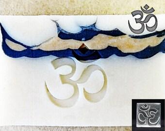 SoapRepublic OM (aum) Yoga Acrylic Soap Stamp