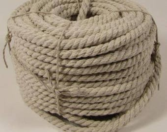 Natural Hemp Rope 8mm