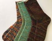 Custom Made Socks With Your Yarn---RESERVED LISTING for dduggan