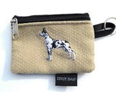 Harlequin Great Dane Coin Purse