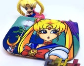 Sailor Moon and Scouts - Double Sided COIN PURSE