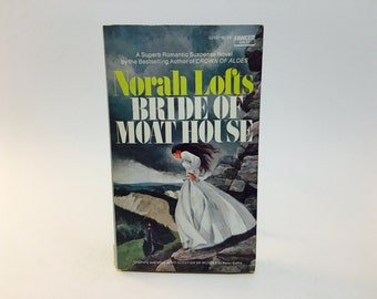 Vintage Gothic Romance Book Bride of Moat House by Norah Lofts 1975 Paperback
