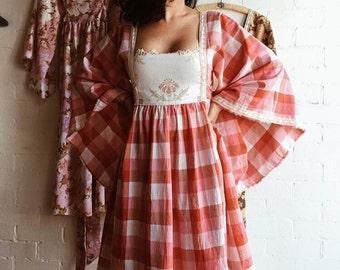 SALE - Vintage fabric Alchemist dress