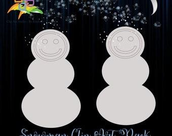 Snowman Clip Art Mini-Pack - Master Reseller Rights