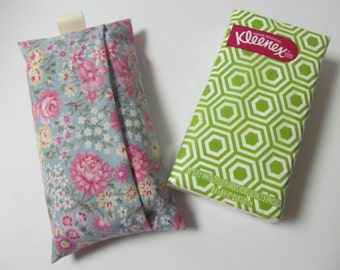 Tissue Case/Retro Flower