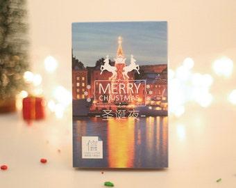 Christmas Greeting Cards Christmas Card Paper Ephemera Card