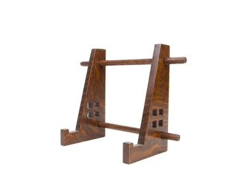 Arts and Crafts Display Easel for Tiles, Plates, or Other