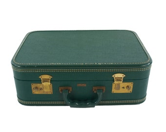 Little Green Suitcase by Crown - Vintage Case