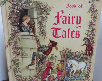 The Tasha Tudor Book of Fairy Tales 1st Edition,  True Vintage Collection, 1961, Children's & Grandparents Book, Bedtime Stories