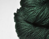 Burning forest OOAK - Merino/BabyCamel Lace Yarn - LIMITED EDITION