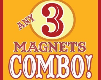 ANY 3 Magnets COMBO! Discount Price