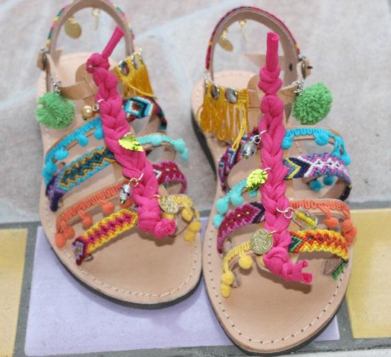 Boho Sandals/Leather Gladiator Sandals/Womens gladiator/Sandals sandales femme