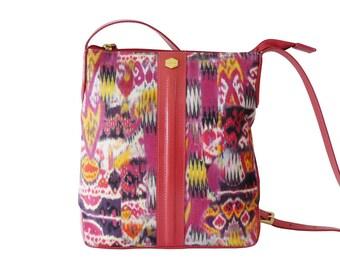 Lodis Boho Ethnic Ikat Messenger Crossbody Shouder Bag