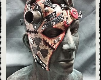 Leather half mask - Wasteland II