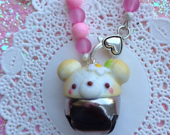 Kawaii Lulu Bear Handbag & Cellphone Charm