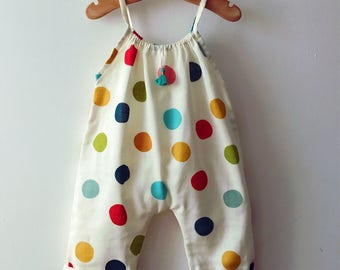 Summer baby romper - organic baby clothes - baby romper boy - hipster baby clothes - baby romper boy