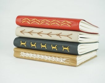 Leather Journal, Leather Notebook, Leather Sketchbook, Travel Journal, Valentine's Gift, Gift for Guy