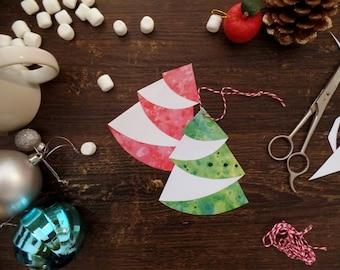 DIY Christmas ornaments, Christmas craft kits, Christmas tree ornaments, Paper decorations, Xmas crafts, Xmas tree ornaments, Holiday crafts