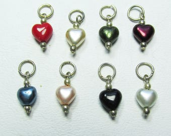 Nail Dangles Eight Hearts which are about 6mm, very small