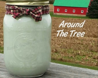 Around The Tree Soy Candle in 16 oz Jar