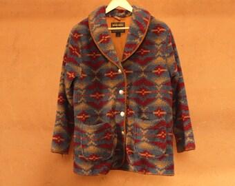 SOUTHWEST woolrich winter COAT women's medium collar blazer women's jacket