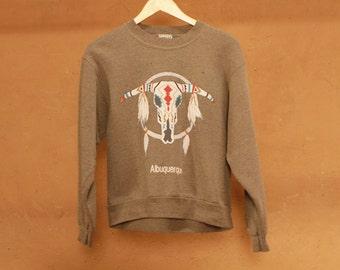 Albuquerque SWEATSHIRT top SOUTHWEST dreamcatcher shirt vintage 80s 90s ARIZONA sweatshirt