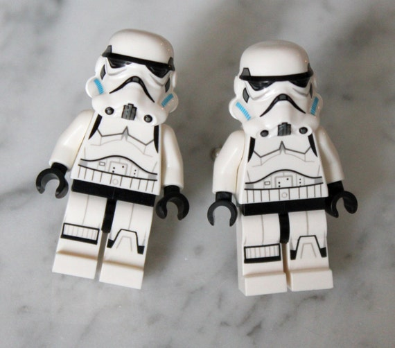 Lego Star Wars Cuff Links - Stormtrooper Lego Minifigure