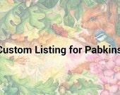 Custom ACEO order: Pabkins