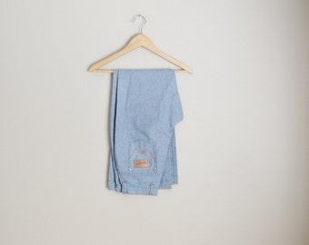vintage 70s light wash wrangler denim jeans // womens 28x30- high waisted