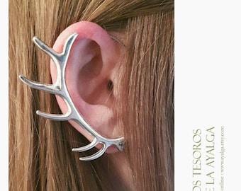 Antle ear cuff - elvish earring - elven ear - elf ear - deer ear cuff - baratheon