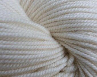 Sport Weight Merino Mulberry Silk Luxury yarn