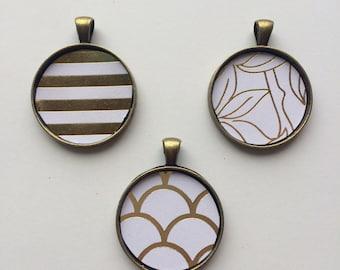 Gold Foil Necklace