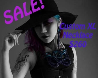 SALE~ CUSTOM: Tentacle Necklace- Extra Large