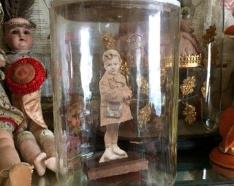 This Antique Heavy Glass Edison Battery Jar Will Hold So Much