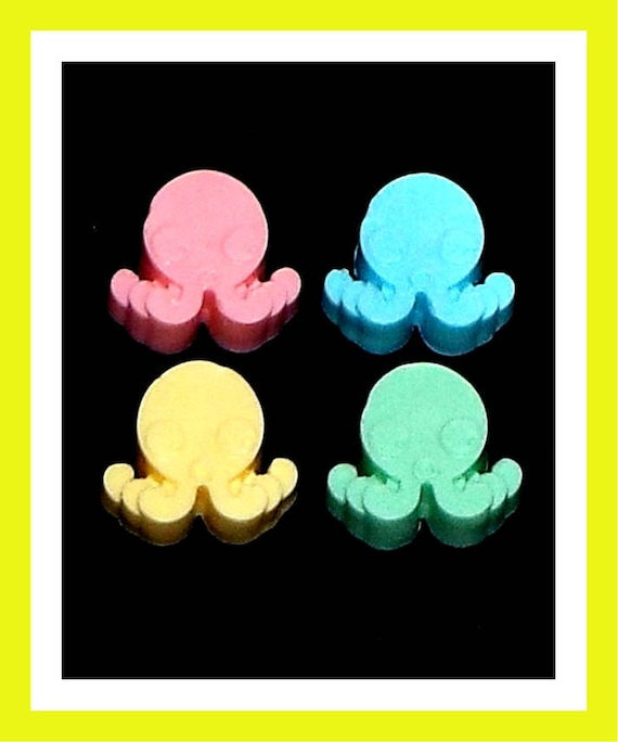 24 Octopus Soap Favors,Baby Shower Favors,Birthday Party Favors,Personalized Button Pin,Girl Birthday,Boy Birthday,Ocean Theme Party,Fun