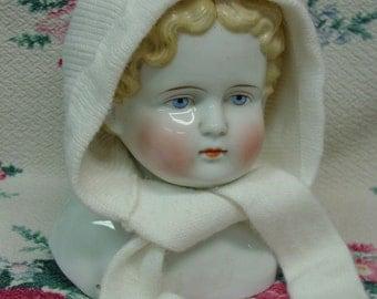 Vintage Little Toddler Girl Hat, Super Soft White, Darling