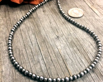 On Sale Now! Petite Navajo Pearls Necklace #144