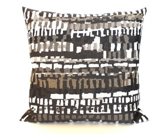 Brown Pillow Cover Modern Abstract Upholstery Pillow Decorative Pillow Beige Taupe Throw Pillow Cover Euro Sham 26x26 24x24 22x22