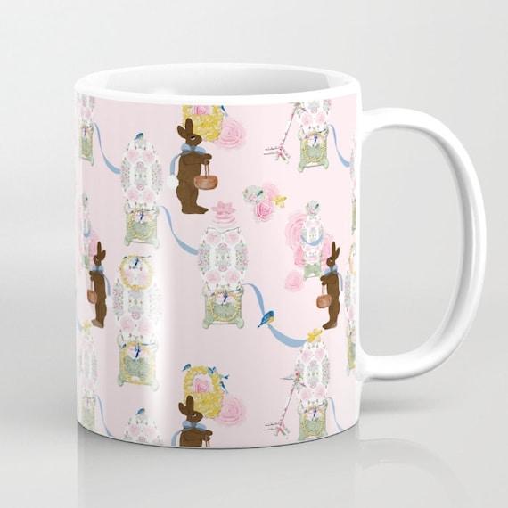 Mug, A Shabby Chic Easter Chocolate Factory