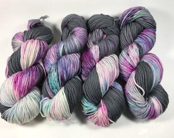 Trevor Morgan DK, Hand dyed yarn, DK Weight, Superwash Merino, Light Worsted, Haute Knit Yarn, Yarn, 8 ply, Hand dyed, My New Jam