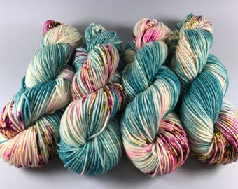 Trevor Morgan DK, Hand dyed yarn, DK Weight, Superwash Merino,  Haute Knit Yarn, Yarn, 8 ply, Hand dyed, Made For Movement