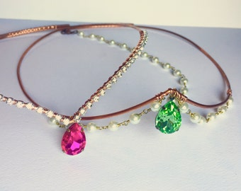 Shimmer and Shine Crowns - Shine Crown - Shimmer Crown - Girls Gift - Gifts for sisters - Cosplay Crown - Princess Crowns