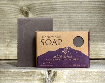Wild Lilac - Handmade Vegan Soap - California Native Plant