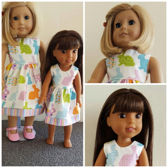 AG and WW Easter Dresses for the Easter Basket.