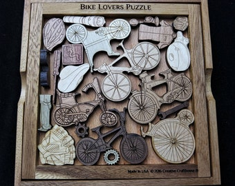 Bike Lovers Puzzle for those that love their Bicycles