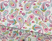 Paisley Snuggle Flannel Fabric By The Yard