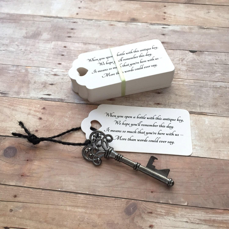 skeleton key wedding favors - Wedding Decor Ideas
